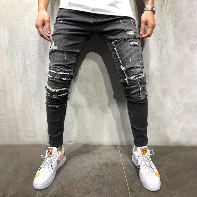 Ripped Holes Skinny Jeans