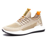Breathable Knitted Sports Tie Up Sneaker