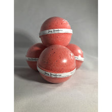 Load image into Gallery viewer, Juicy Strawberries 4.5 oz Bath Bomb