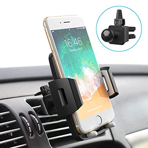 Cell Phone Holder for Car, Universal Car Holder Phone Mount, Car Air Vent Stand Cradle 360 Rotation Compatible with iPhone Xs XR X 8 7 6 Plus Samsung S10 S9 S8 Plus LG Motorola Pixel Nexus: Cell Phones & Accessories