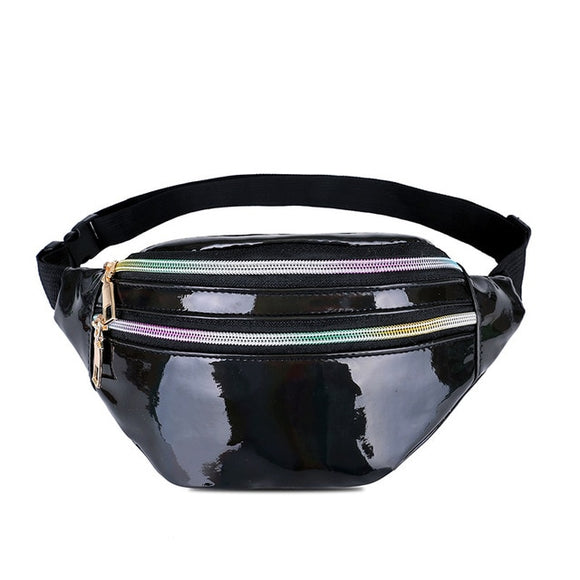 Holographic Waist Bags Chest Phone Pouch