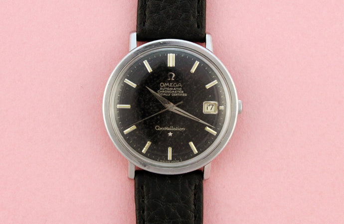 OMEGA Black Dial Automatic Chronometer Constellation (1966)