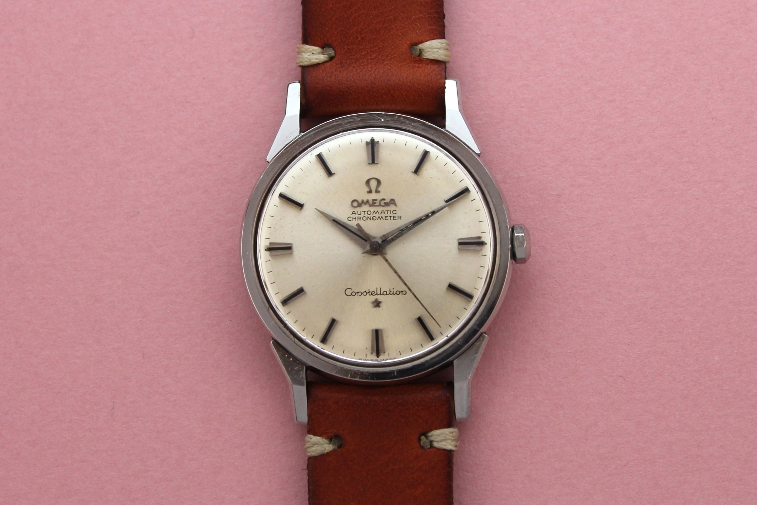 "Omega Automatic Chronometer Constellation ""Dog Leg"" Lugs (1961)"