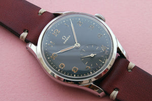 OMEGA Ref 2639 Black Dial Sub Second (1951)