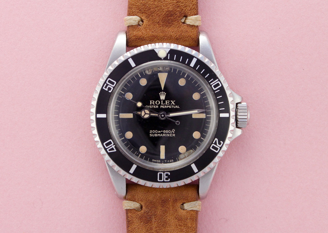 ROLEX Submariner 5513 Meters First Gilt Dial (1965)