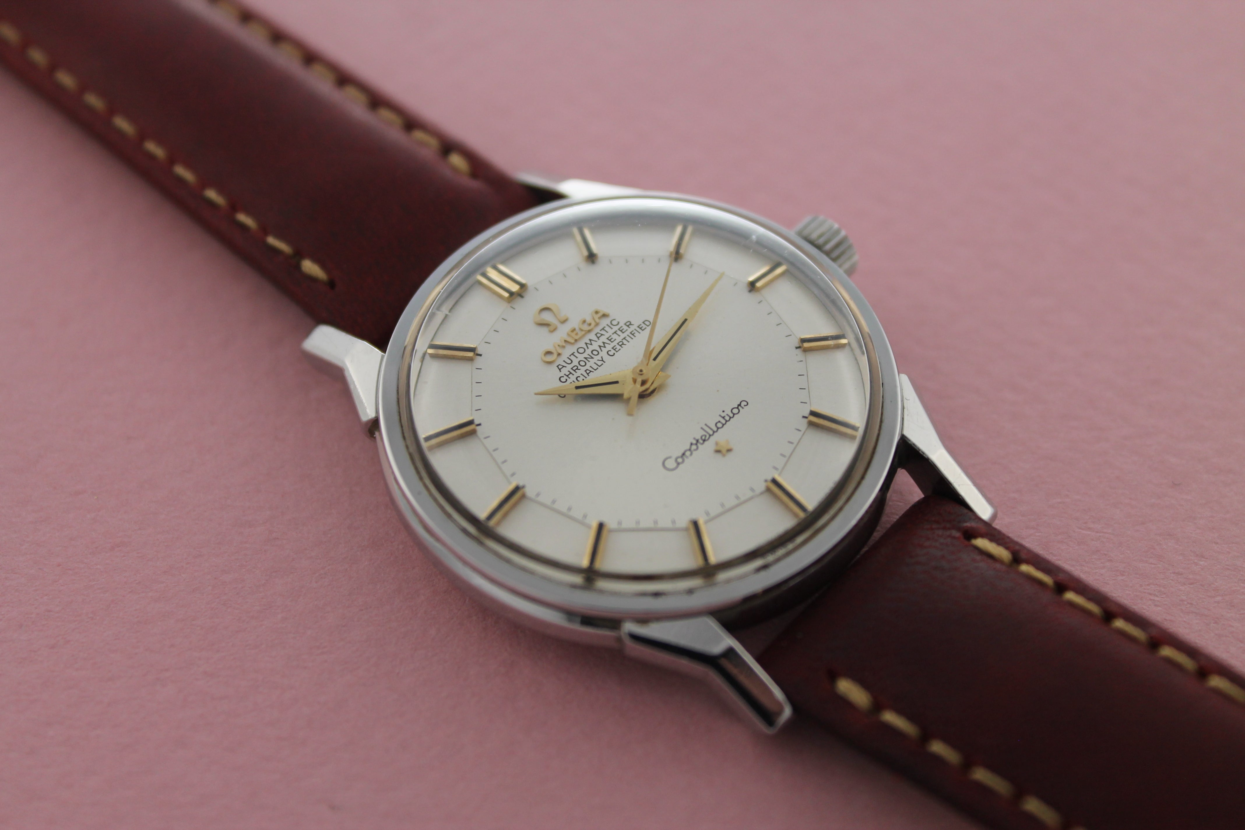 "OMEGA Automatic Chronometer ""Pie Pan"" Constellation Cal 551 (1962)"