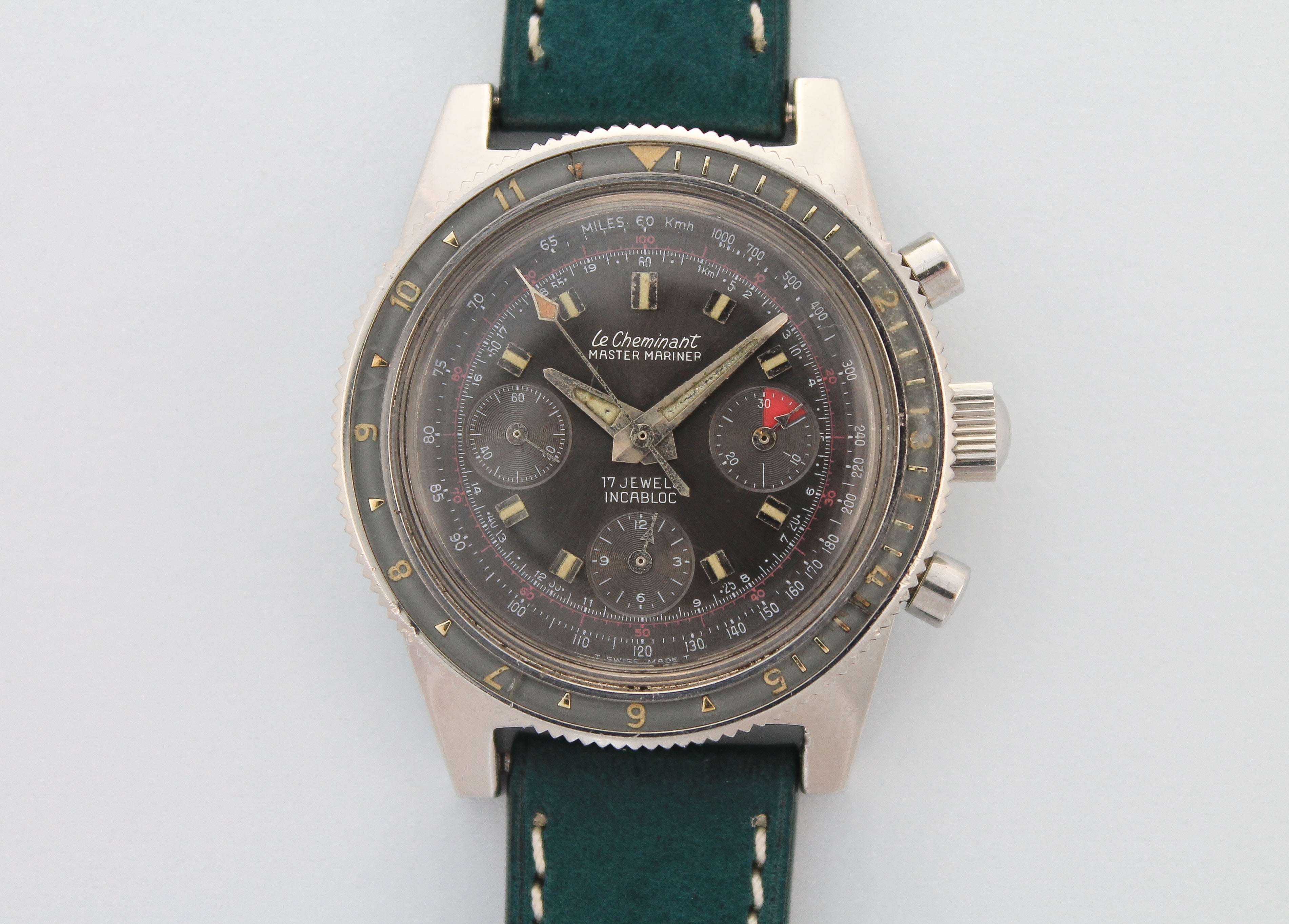 LE CHEMINANT Master Mariner Diver Chronograph (c.1960's)