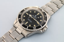 Load image into Gallery viewer, ROLEX Submariner ref 5513 Non-Serif Matte Dial (1970)