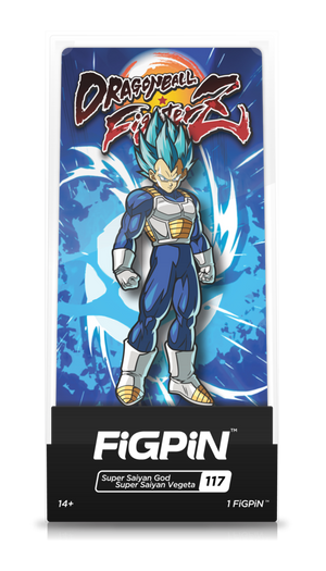 Dragon Ball FighterZ: Super Saiyan God Super Saiyan Vegeta FiGPiN
