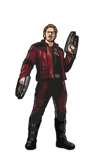 MARVEL AVENGERS INFINITY WAR: Star-Lord FiGPiN