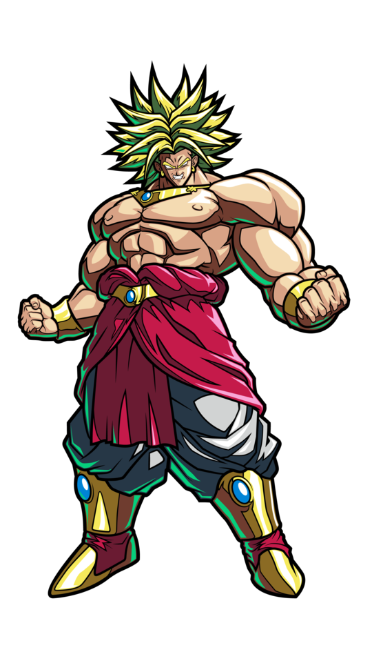 Dragon Ball FighterZ: Broly FiGPiN Standard