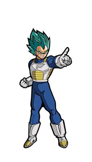 Dragon Ball Super: Super Saiyan God Super Saiyan Vegeta FiGPiN Mini