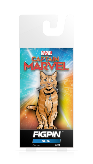 CAPTAIN MARVEL: Goose FiGPiN MINI