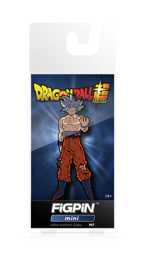 Dragon Ball Super: Ultra Instinct Goku FiGPiN Mini