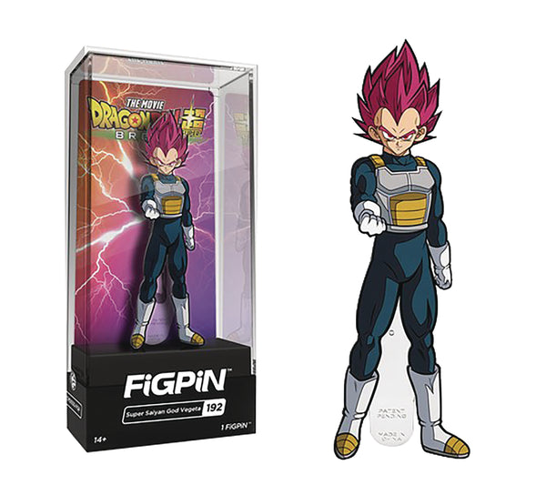 Dragon Ball Z Super: Super Saiyan God Vegeta FiGPiN