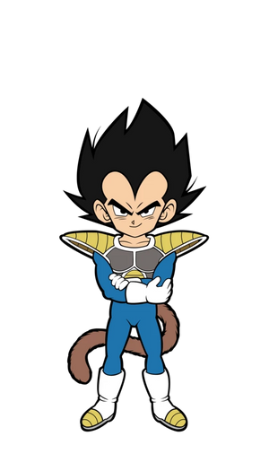Dragon Ball Super - Broly Movie: Kid Vegeta FiGPiN Mini