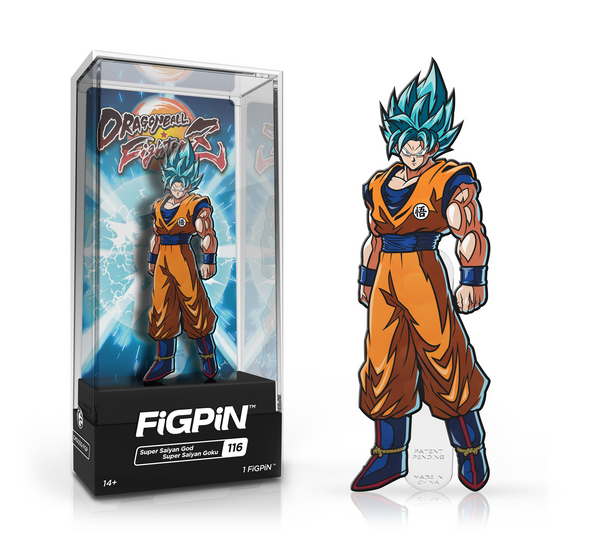 Dragon Ball Fighter Z: Super Saiyan God Goku FiGPiN