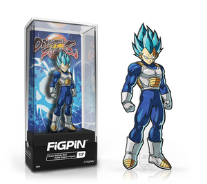 Dragon Ball Fighter Z: Super Saiyan God Vegeta FiGPiN
