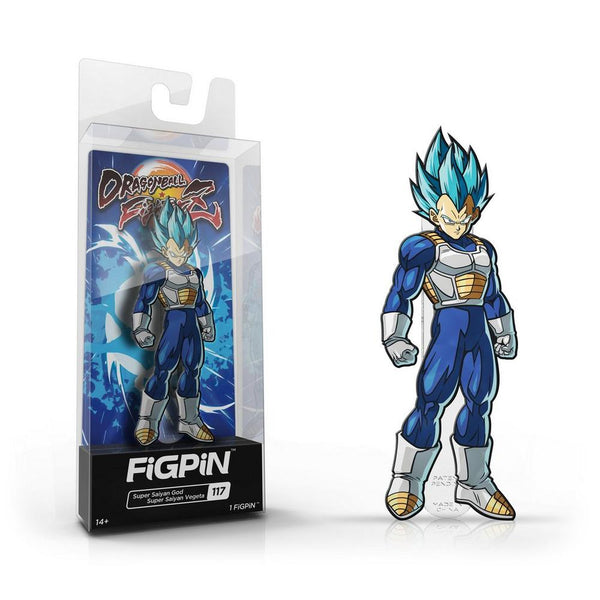 Dragon Ball FighterZ: Super Saiyan God Vegeta FiGPiN Standard