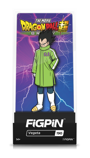 Dragon Ball Z Super: Broly Movie - Vegeta FiGPiN