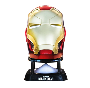 Camino Iron Man Mark 46 Helmet Mini Bluetooth Speaker (V2.0)