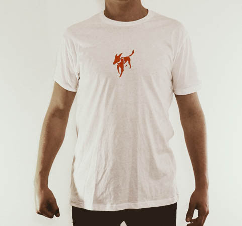 Tradies Tee Back (White)