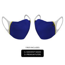 Charger l'image dans la galerie, Nanoknit Ultra Fit Electric Blue [2 Masks/Pack]