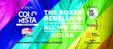The Boxer Rebellion, All We Are, Golan - March 16, 2018 - Fratelli Studios