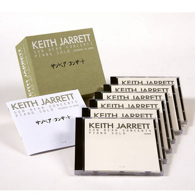 CD | 6 discs box set | KEITH JARRETT - Sun Bear Concerts | piano jazz | live in Japan 1976