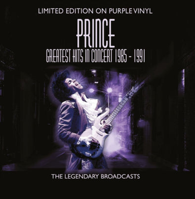 PRINCE - Greatest Hits In Concert 1985-1991 (Purple Vinyl)
