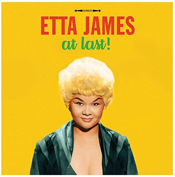 ETTA JAMES - At Last! (Yellow Vinyl)