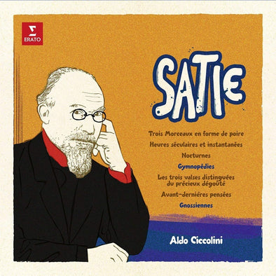 Erik Satie - Aldo Ciccolini (piano) Limited Editon 1000 pcs.