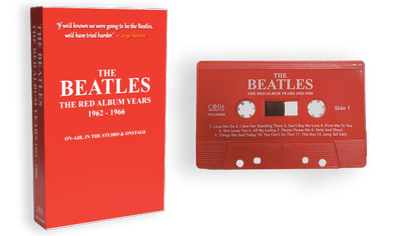 cassette | caseta | THE BEATLES - The Red Album Years