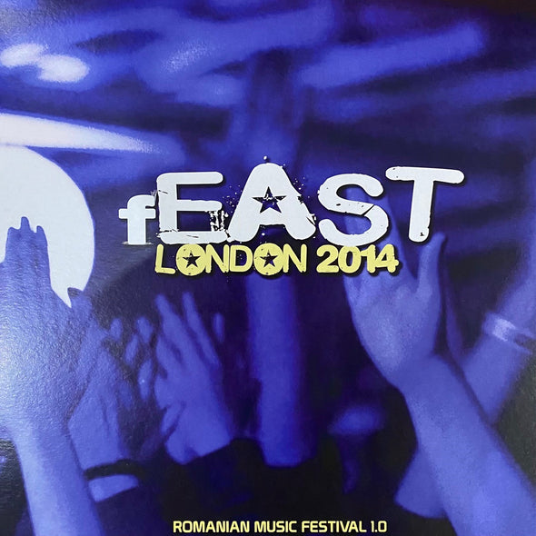 Romanian Indie Vinyl / Vinil Compilation Romanian Indie fEAST festival 2014 London (Subcarpati, Omul Cu Sobolani OCS, Robin and The Backstabbers, ROA, CTC, The Amsterdams, Mihail, The Speakers)