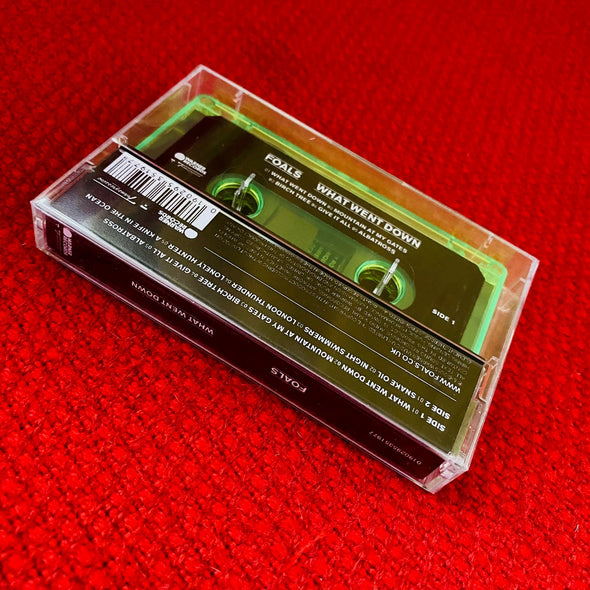 cassette | caseta | FOALS - What Went Down