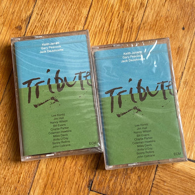 2 cassettes album | new-sealed | Keith Jarrett Trio ‎– Tribute | original release from 1990