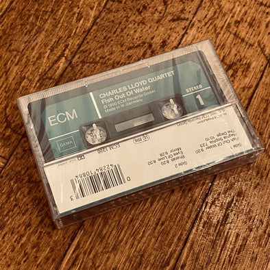 cassette / caseta - CHARLES LLOYD QUARTET - Fish Out Of Water