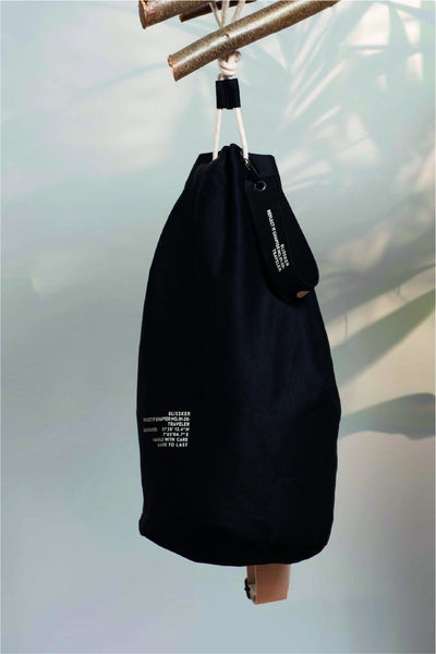 Alpha Duffle Bag Black