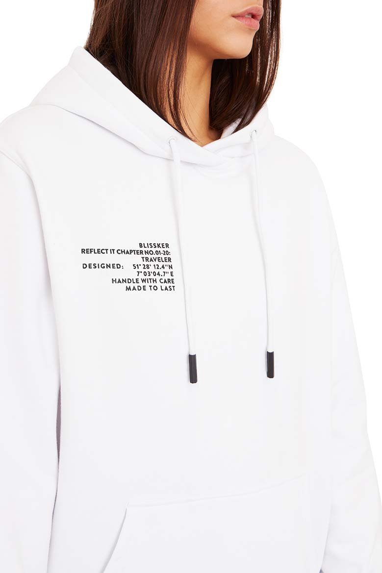 Alpha Hoodie White