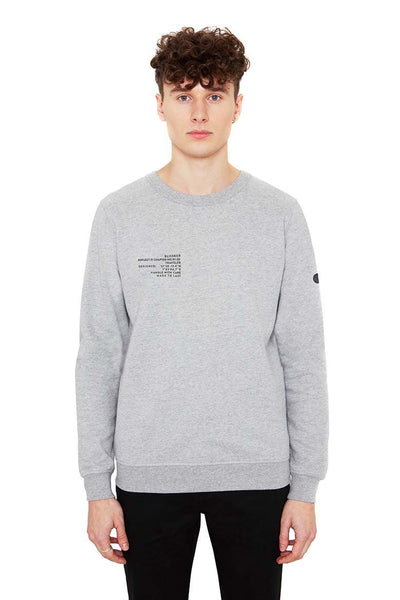 Alpha Sweater Grey Melange