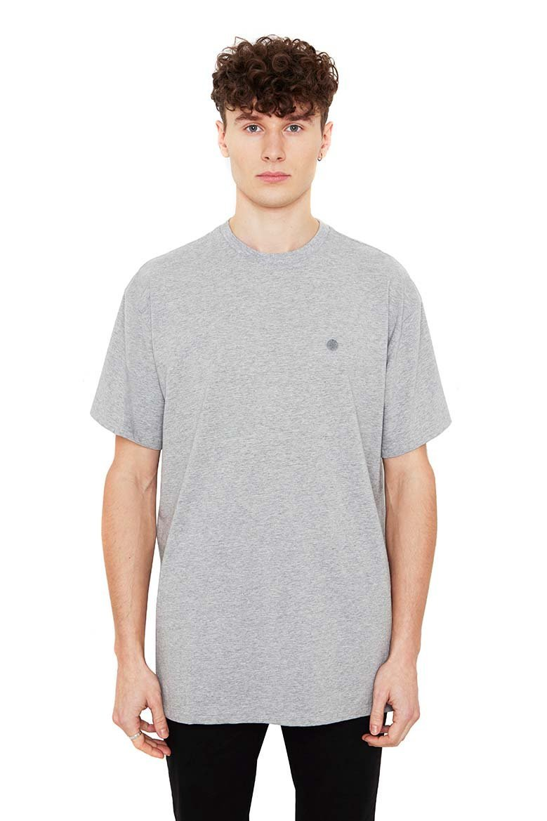 Beta Tee Grey Melange