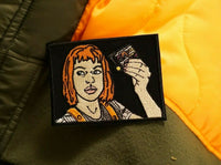 Leeloo Dallas Multipass The 5th Element Milla Jovovich Embroidered Patch