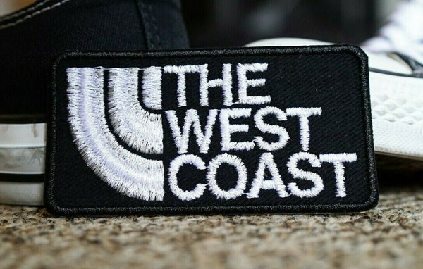 The West Coast, California, Cali, San Francisco, Los Angeles, Embroidered Patch