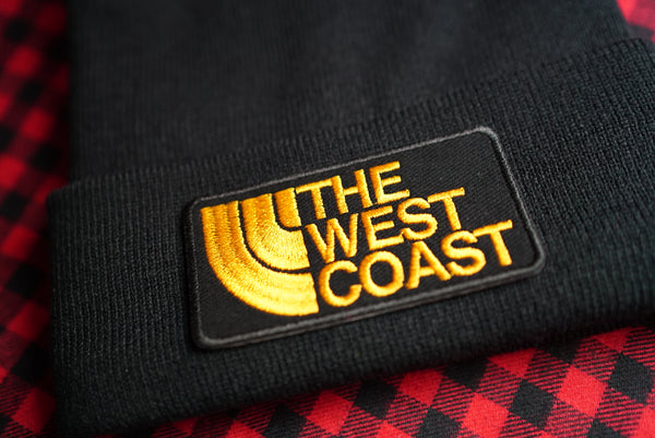 The West Coast, California, Cali, San Francisco, Los Angeles, Embroidered Beanie
