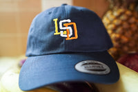 LSD Acid Lucy Psychedelic Tripping Hippie San Diego Padres Embroidered Dad Hat