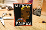 Wesley Snipes, Autistic Snipes, Demolition Man, Simon Phoenix Embroidered Patch