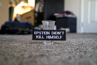 Epstein Didn't Kill Himself, EDKH, Supreme Embroidered Patch