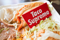 Taco Supreme, Box Logo Embroidered Patch