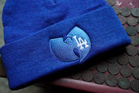 Los Angeles Dodgers x Wu Tang Logo Embroidered Beanie