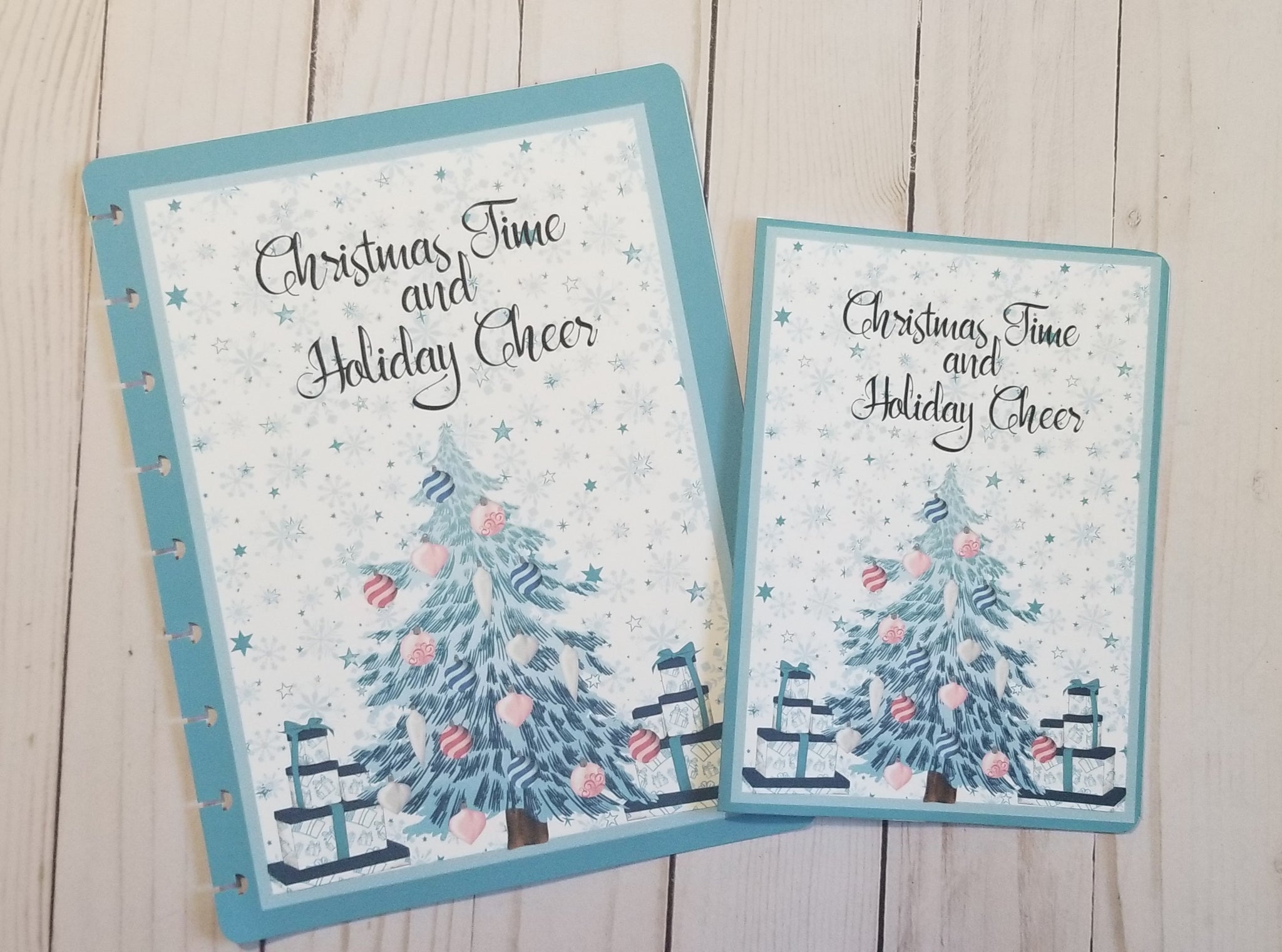 Christmas Tree Dashboard / Dashboard / TN Dashboard / Traveler's Notebook Dashboard  / TN Insert / Planner Dashboard / Planner Insert